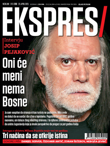 naslovna strana Ekspresa