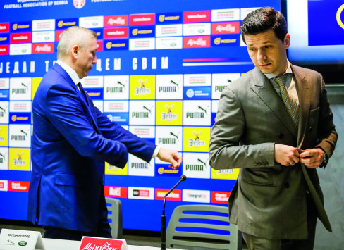 Slavisa Kokeza i Marko Pantelić