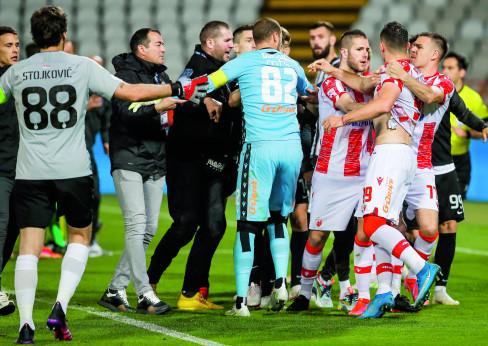 Finale Kupa Srbije,  Crvena Zvezda - Partizan, derbi, derby 25.5.2021.