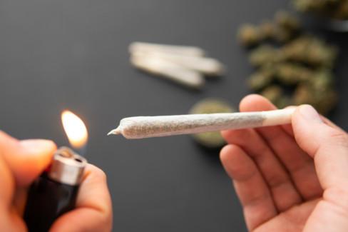 džoint, marihuana, droga