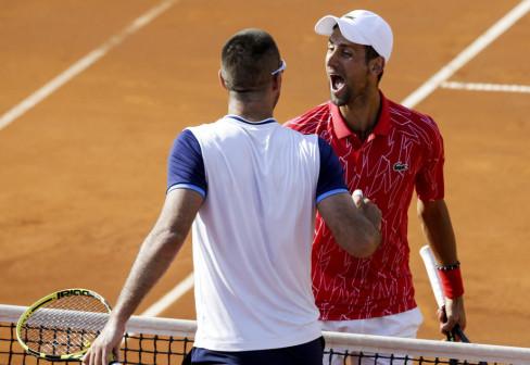 Novak Đoković i Viktor Troicki