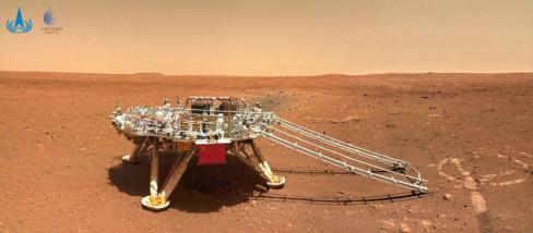 Kineski rover na Marsu