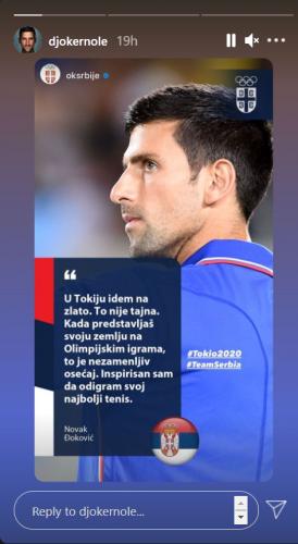 Đoković instagram