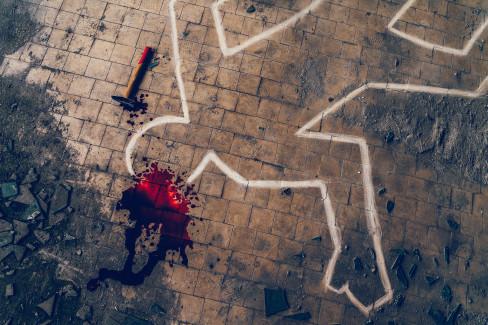 Scena zločina, ubistvo 8.9.2021.